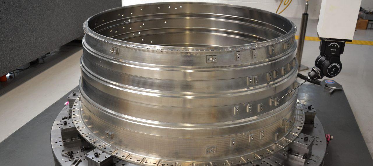 BEL Engineering Manufactures Intermediate Pressure Compressor for Major UK Aerospace Manufacturer